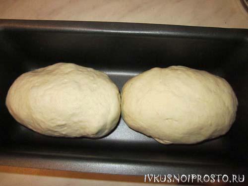 Белый хлеб в духовке5