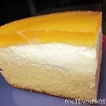 Бисквитный торт с желе
