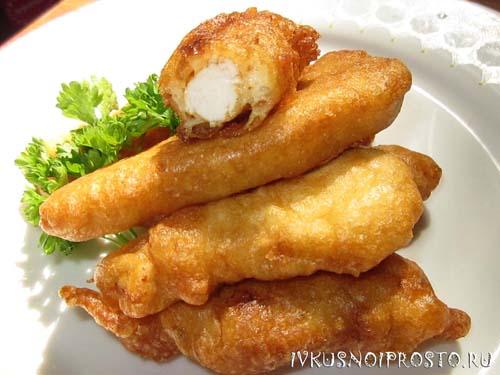 рецепт курица в кляре куриное филе