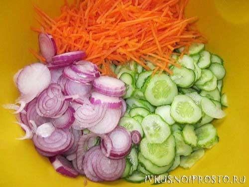 Салат из огурцов по-корейски2