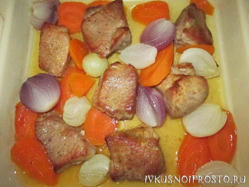 Свинина с помидорами4