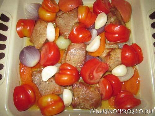 Свинина с помидорами5