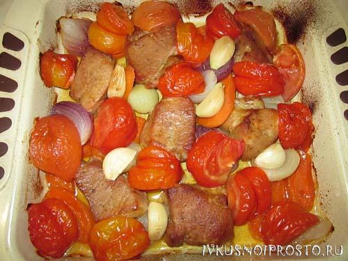 Свинина с помидорами6