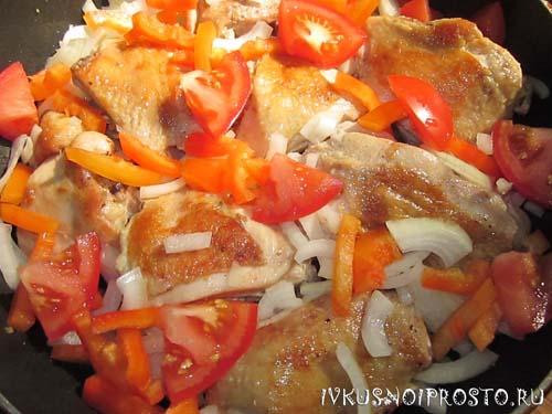 Куриные бедра на сковороде3