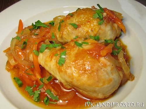 Блюда из ножек курицы рецепты простые и вкусные