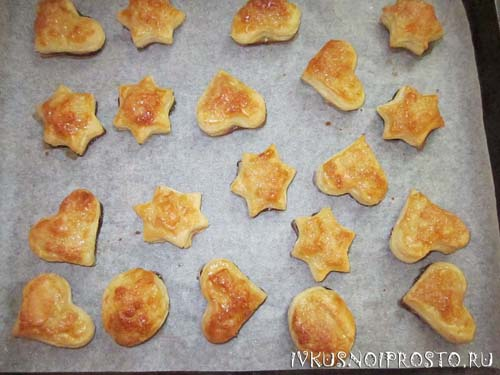 Печенье из слоеного теста5