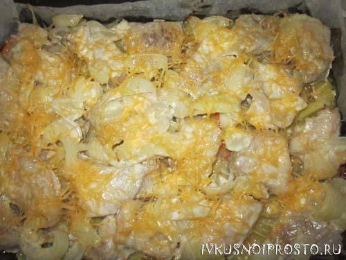 Свинина с картошкой в духовке5