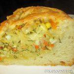 Пирог с капустой в духовке