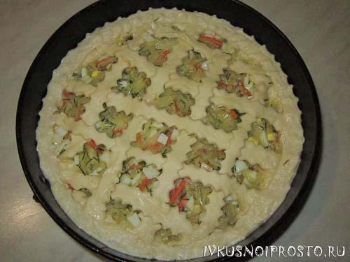 Пирог с капустой в духовке4