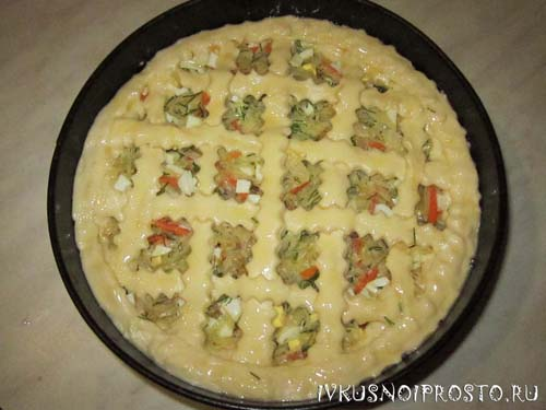 Пирог с капустой в духовке5