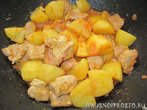 Жаркое с картошкой6