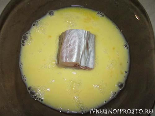 Минтай на сковороде3