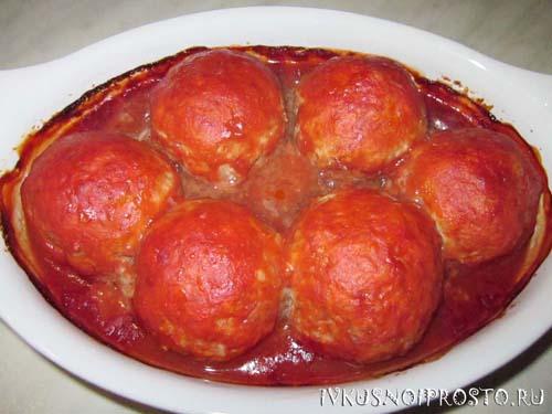Тефтели в томатном соусе5