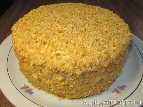 Торт Медовик классический10