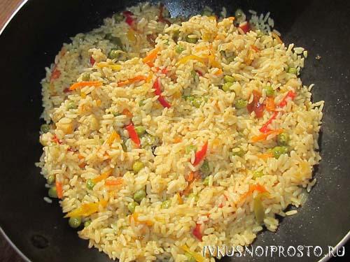 Рис с овощами4