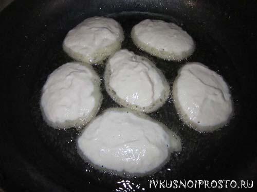 Оладьи без яиц2