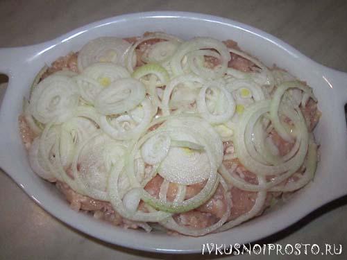 Картошка с фаршем в духовке2