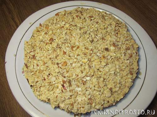 Ореховый торт6