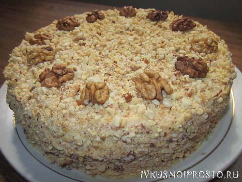 Ореховый торт7