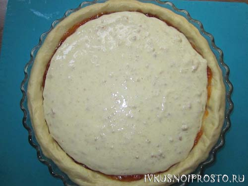 Пирог с творогом5