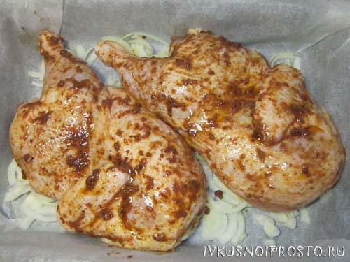Цыпленок в духовке4