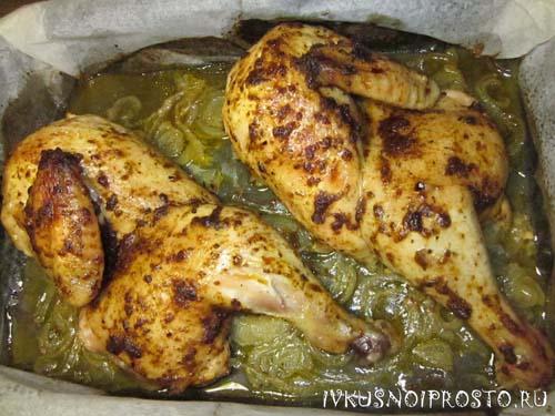 Цыпленок в духовке6