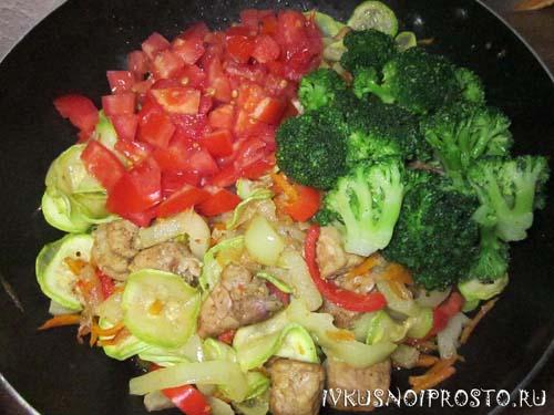 Овощное рагу с мясом4