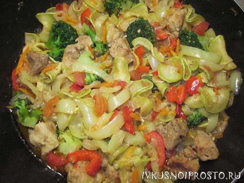 Овощное рагу с мясом5