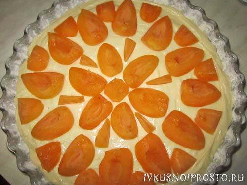 Пирог с абрикосами5
