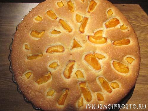 Пирог с абрикосами6
