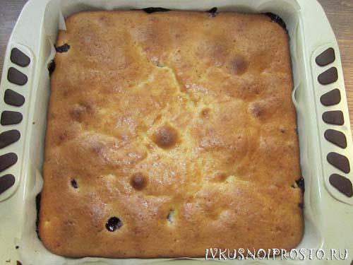 Пирог со смородиной6