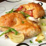 Курица в майонезе в духовке