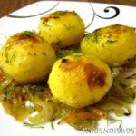Картошка в рукаве в духовке