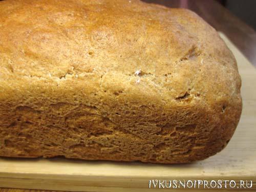Пшенично-ржаной хлеб5