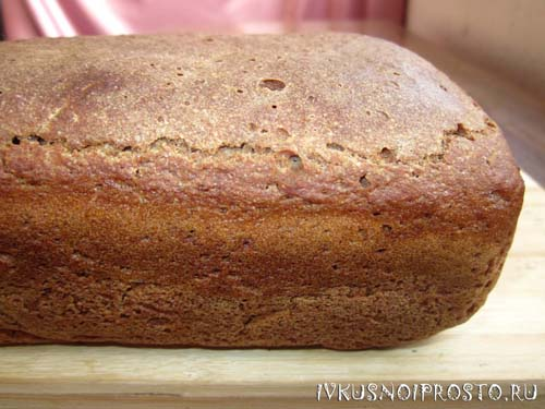 Ржаной хлеб на закваске6