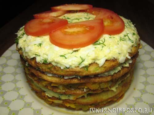 Торт из кабачков8