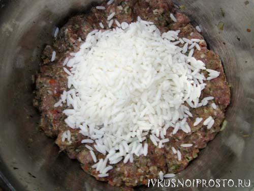 Тефтели с рисом1
