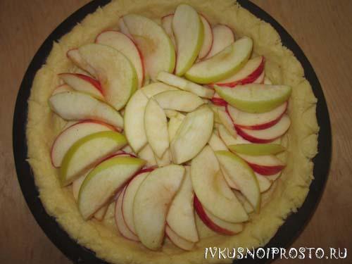 Цветаевский яблочный пирог5
