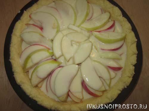 Цветаевский яблочный пирог6