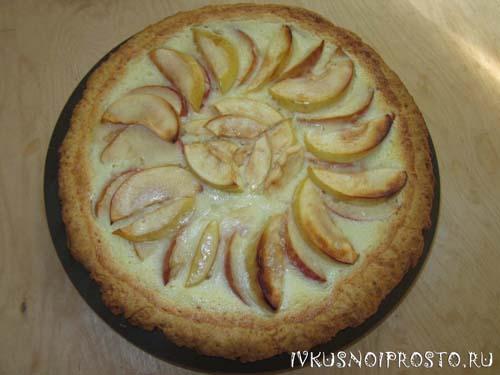 Цветаевский яблочный пирог7