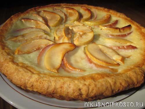 Цветаевский яблочный пирог8