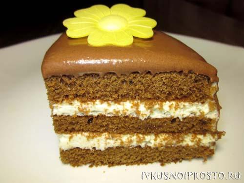 Торт из готовых коржей