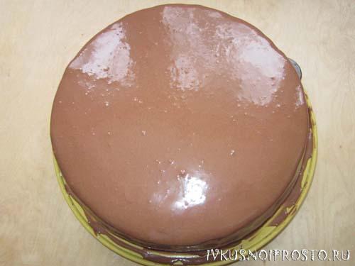 Торт из готовых коржей5