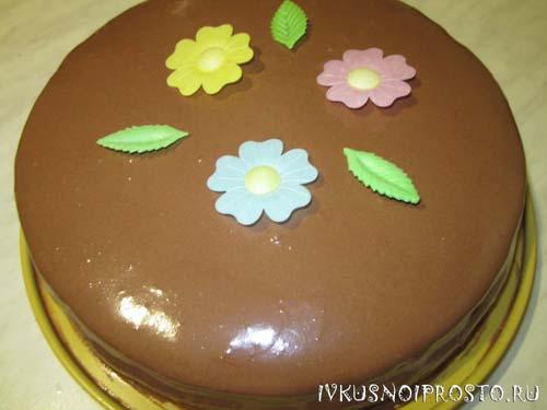 Торт из готовых коржей6
