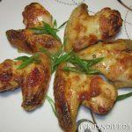 Куриные крылышки в кефире