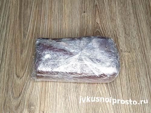 Домашний деликатес из грудинки4