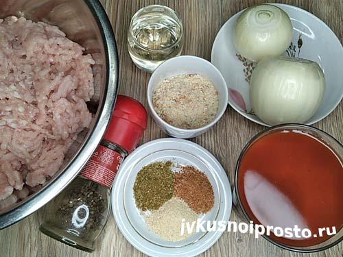 Фрикадельки в томатном соусе1