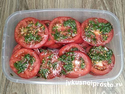 Маринованные помидоры по-итальянски6